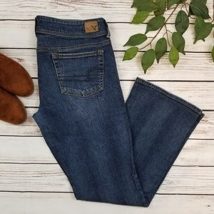 American Eagle Kick Boot Stretch Bootcut Jeans